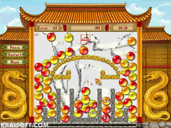 Make ball combos in a lively environment with an oriental twist. reliable Screen Shot