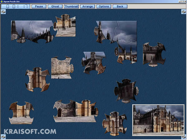 Click to view Jigsaw Puzzle Lite 1.8.4 screenshot