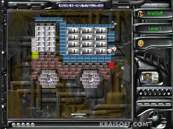 Screenshot of Warkanoid