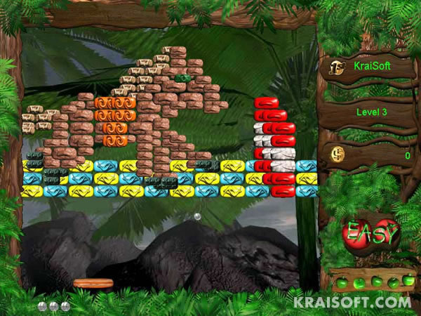 Screenshot of Warkanoid II: WildLife